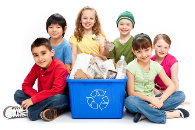 Enseña a cuidar el planeta a tus hijos desde que son pequeños